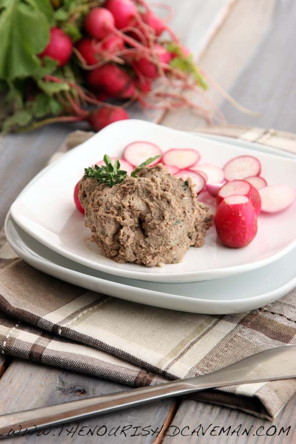 Chicken Liver Pate by The Nourished Caveman