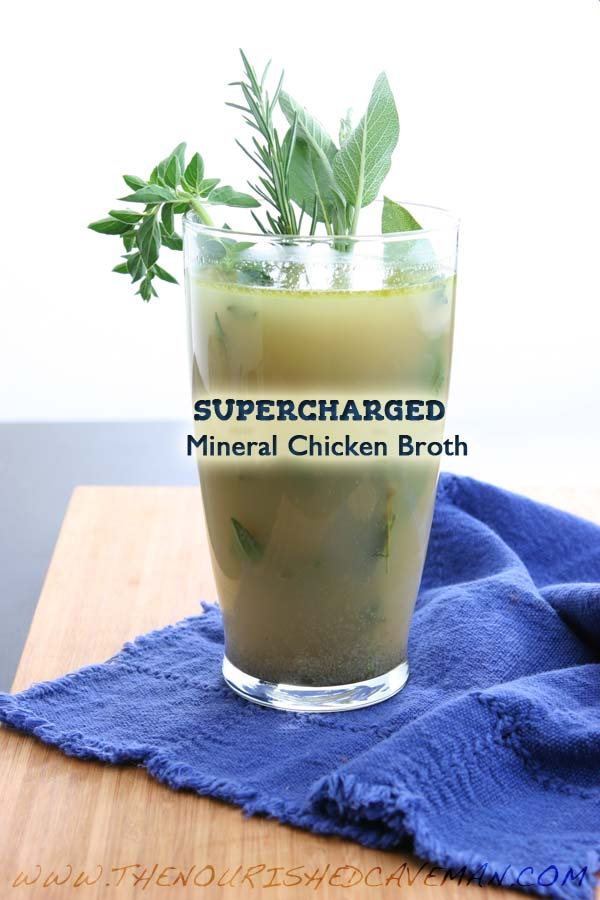 Supercharged Mineral Chicken Broth By The Nourished Caveman 2
