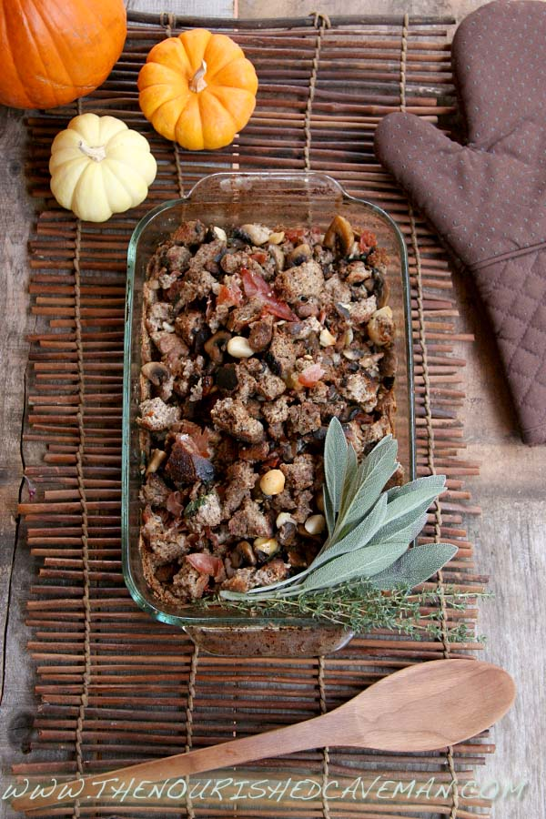 Gourmet Keto Thanksgiving Stuffing By The Nourished Caveman