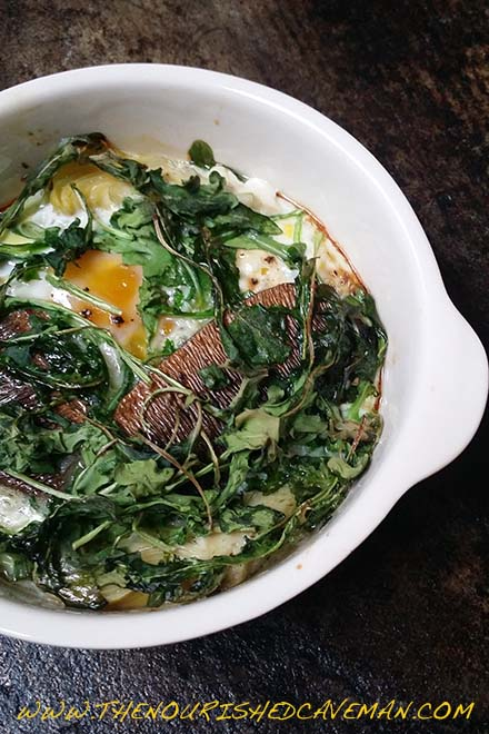 Looking for the perfect breakfast? Try this Keto and low carb Nutrient Dense Fisherman's Eggs!! Nutrient Dense Fishermans Eggs By The Nourished Caveman 2