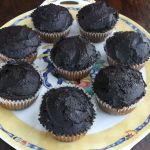 Sweet Pleasure: Paleo Vanilla Cupcakes with Chocolate Frosting