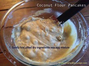 Coconut Flour Pancakes Batter