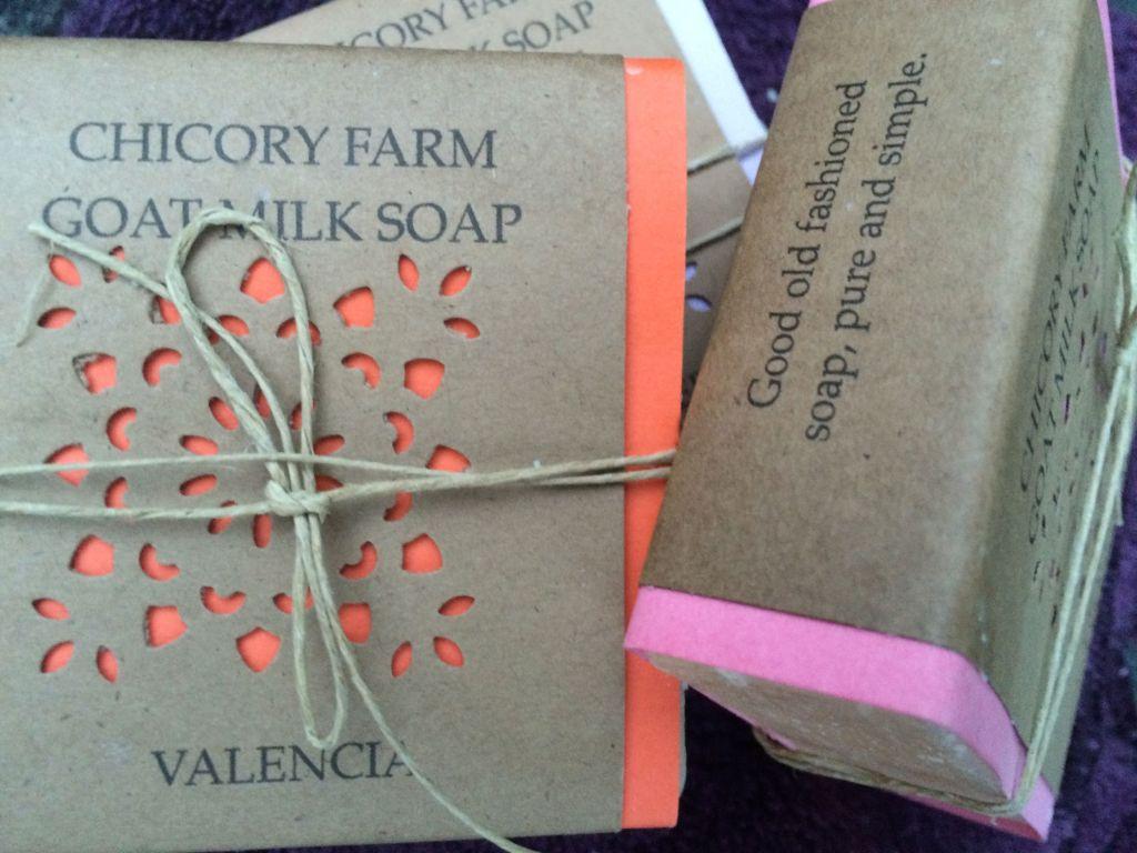 NE_Chicory Farm goat milk soap