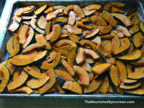 Kabocha squash, seasoned
