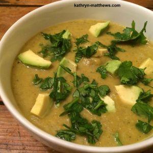 Creamy Curry Broccoli Soup