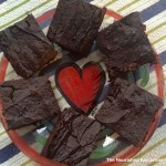 Ultra-Dark Chocolate-Sweet Potato Brownies