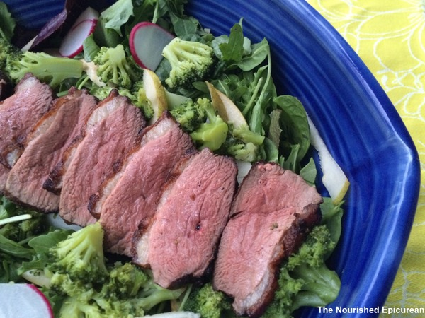 Five Spice Duck Breast Salad