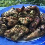 Grilled Vietnamese Herb Chicken