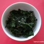 Baked Kale-Coconut Chips