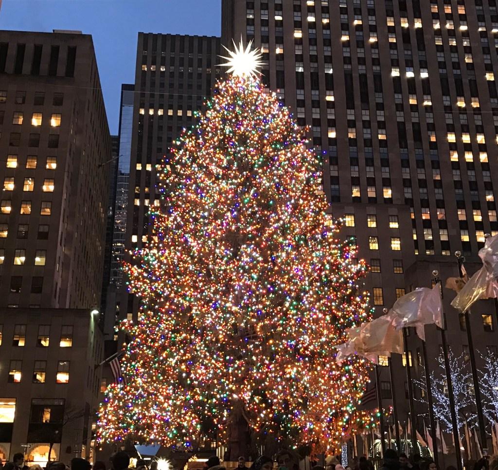 Xmas Tee at Rockefeller Center 2018