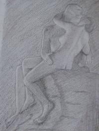 The Kiss by Sana S.