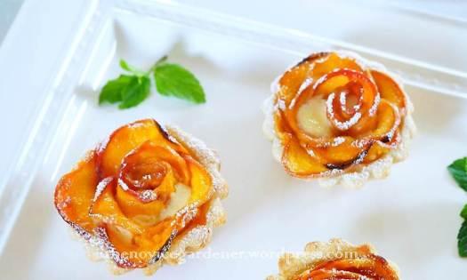 peach rosette tartlet5