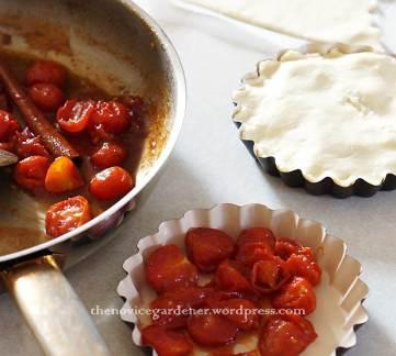 tomato tarte tatin