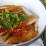 flounderin chili sauce