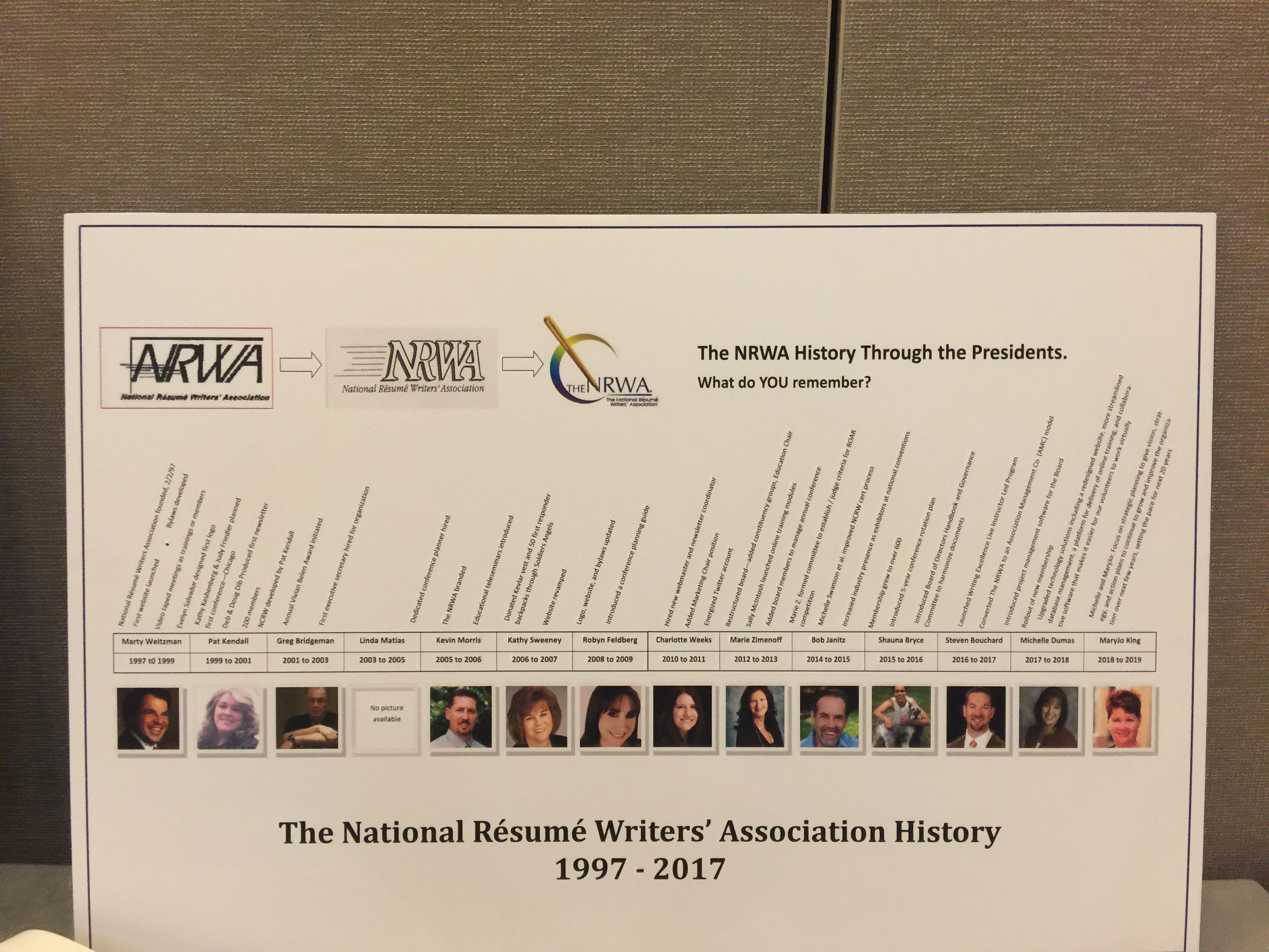 National R    sum     Writers  Association   2017 Conference Photos CELEBRATING 20 YEARS OF RESUME WRITING EXCELLENCE