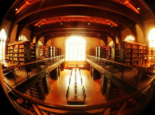 Thompson Memorial Library at Vassar
