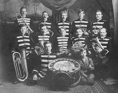 Fralsnings-Armen (Salvation Army) Band, 1914