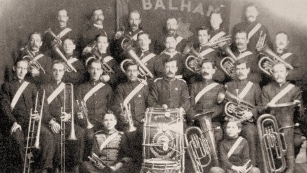 Balham Salvation Army Band, 1908