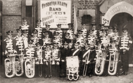 Thornton Heath Salvation Army Band, 1932