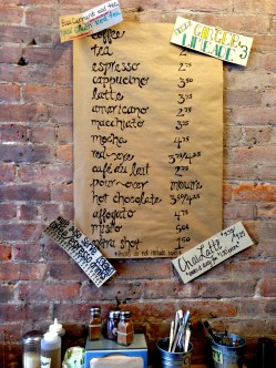 coffee menu at je and jo in hell's kitchen/midtown west