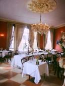 The ornate First Floor restaurant, Portobello, London