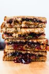 """Peanut Butter,"" Jelly and Jalapeño Sandwich | www.thenutfreevegan.net"