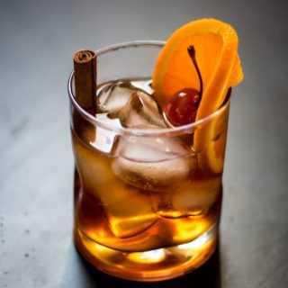 Maple Old Fashioned | www.thenutfreevegan.net