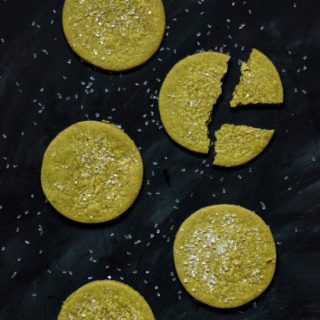 Vegan Matcha Sugar Cookies | www.thenutfreevegan.net