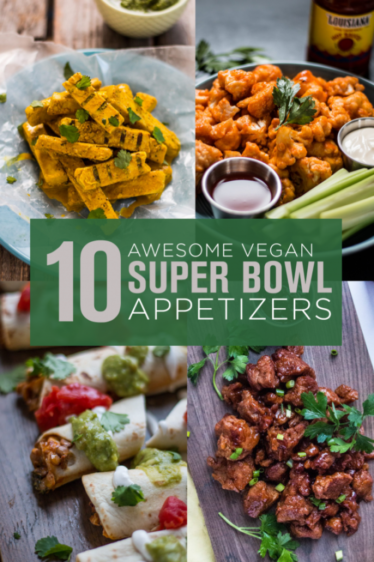 10 Easy and Awesome Vegan Super Bowl Appetizers