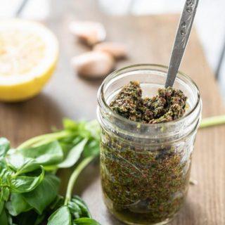 Easy Nut-Free Pesto Nutfreevegan