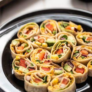 Vegan Southwest Pinwheels nutfreevegan