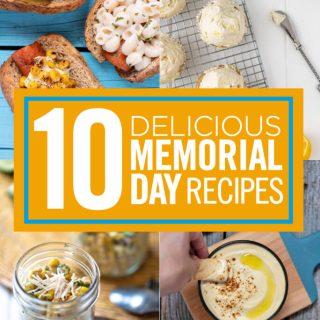Memorial Day vegan recipes nutfreevegan