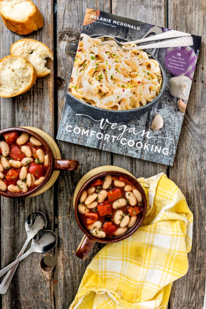 Smoky Tomato and White Bean Soup from Vegan Comfort Cooking