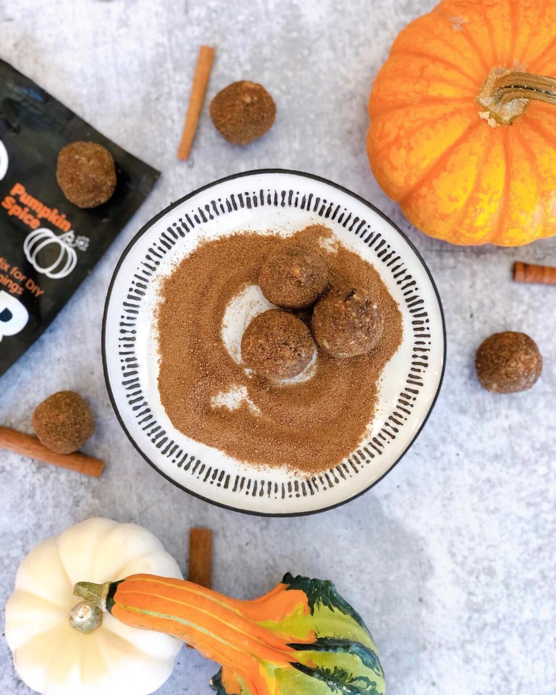 Paleo Pumpkin Spice Bliss Balls