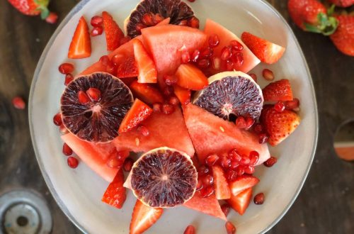 Ruby Red Fruit Salad