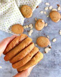 shortbread cookie stack