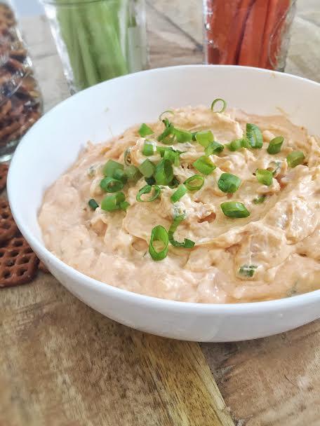 Buffalo Chicken Yogurt Dip