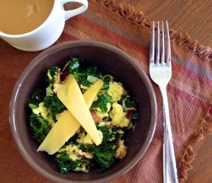 Kale & Bacon Scramble Bowl