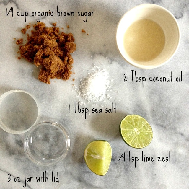 Coconut-Lime Body Scrub