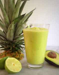 Avocado Pineapple Refresher