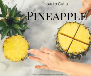 how to cut pineapple