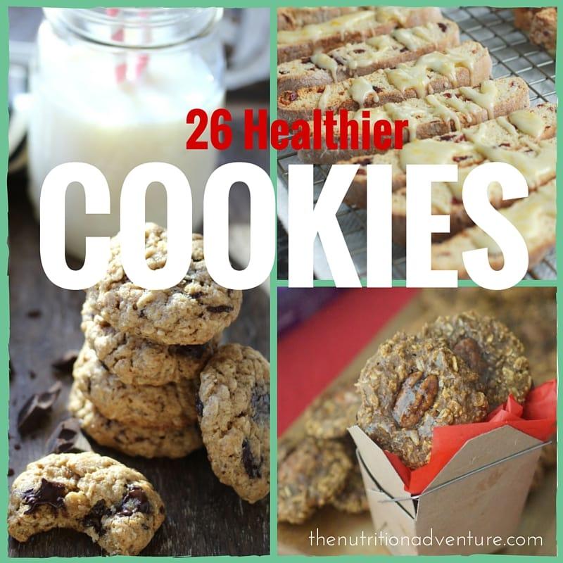 26 Healthier Cookie Recipes