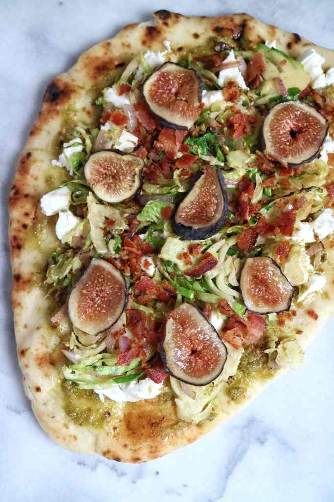 Brussels, Bacon & Fig Pizza
