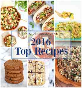 2016 Top Recipes
