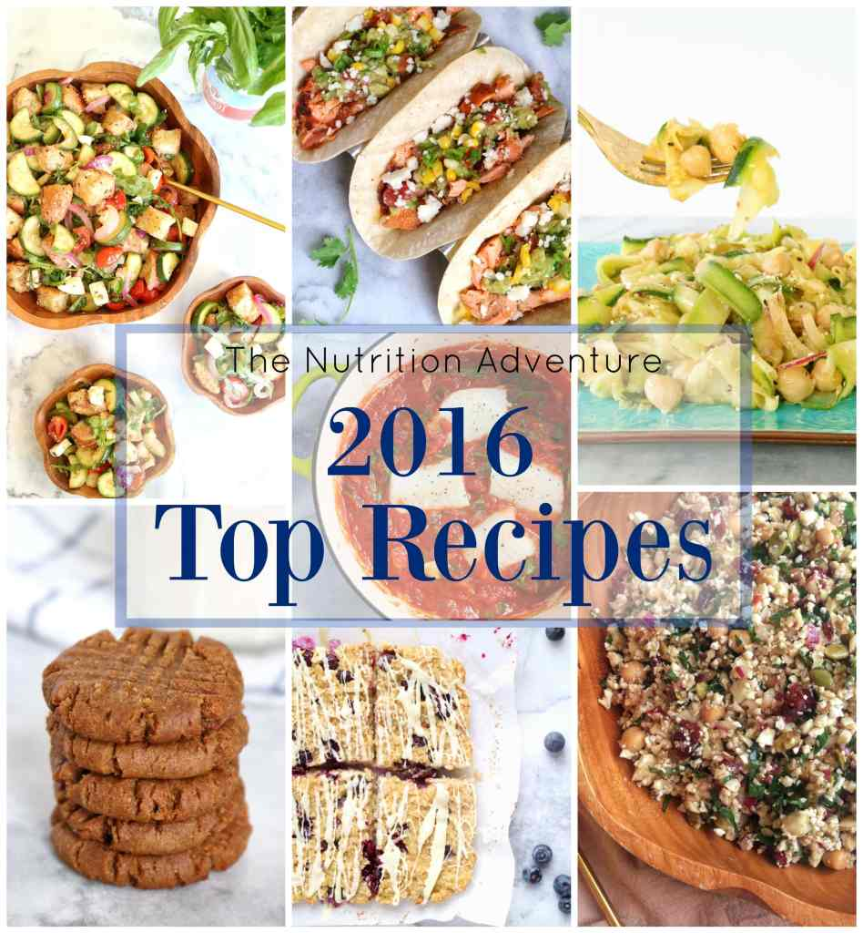 2016 Top Recipes | The Nutrition Adventure