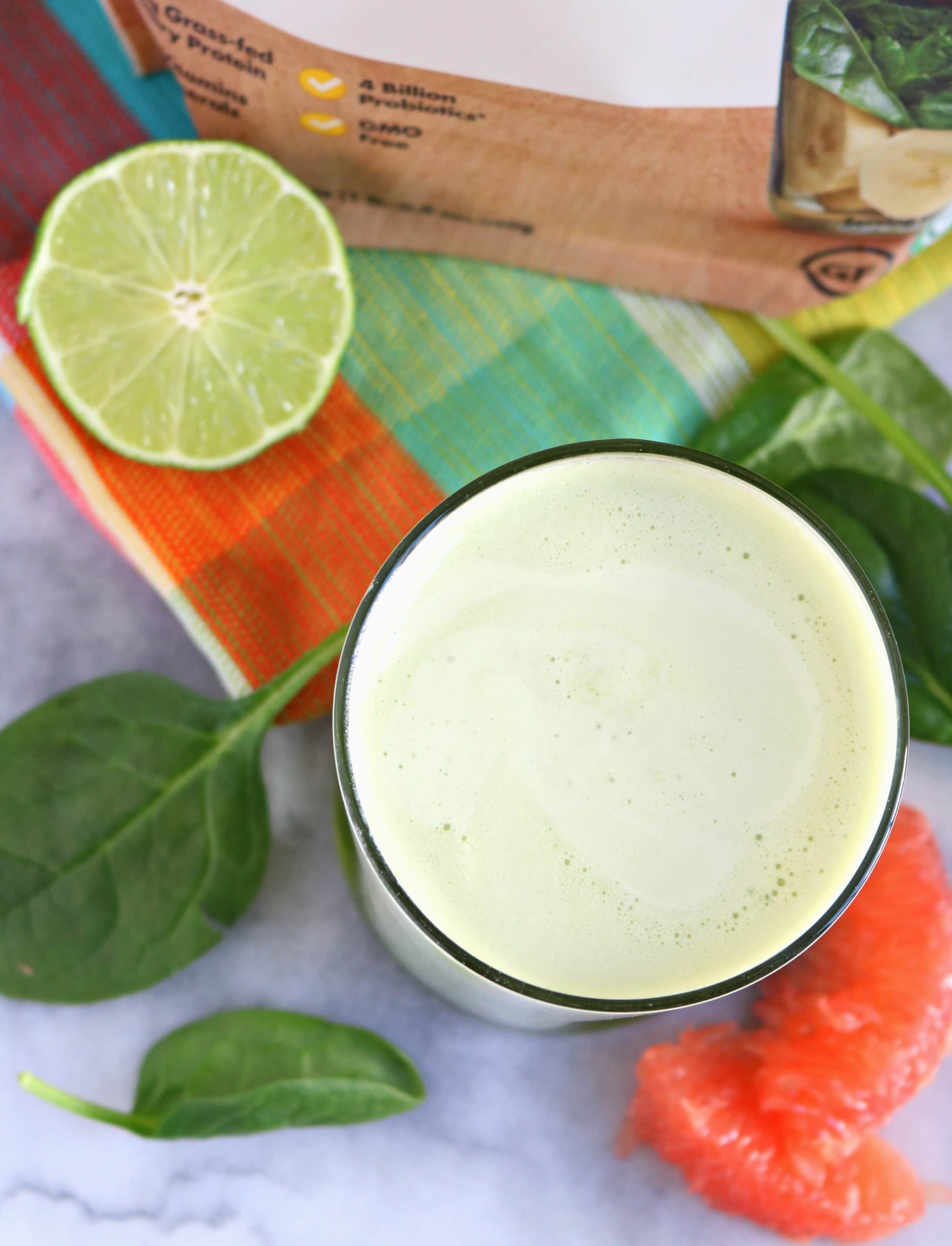 Green Grapefruit Smoothie | The Nutrition Adventure