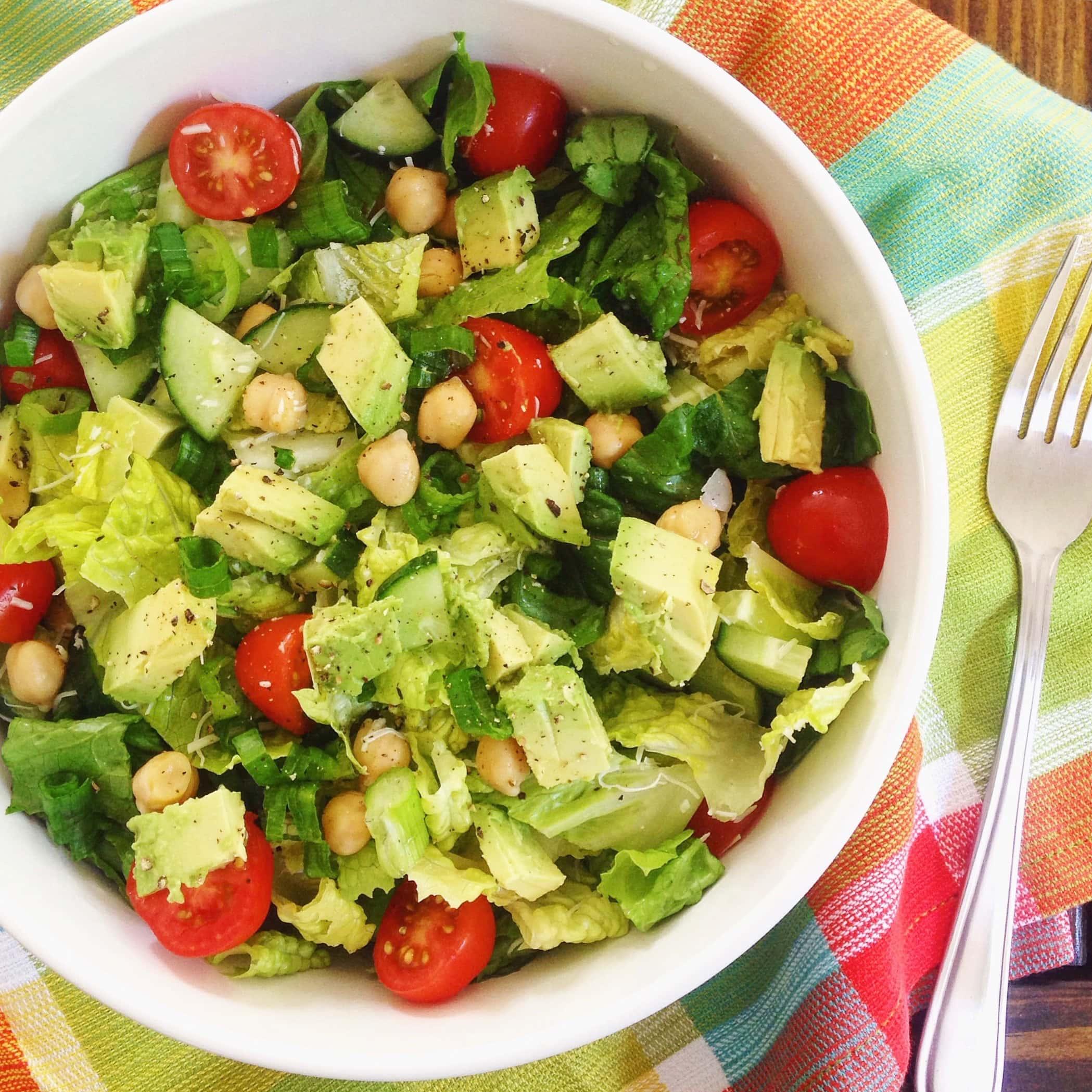 Mediterranean Salad   The Nutrition Adventure
