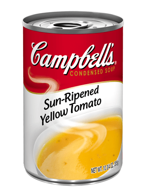 campbell yellow tomato soup 300