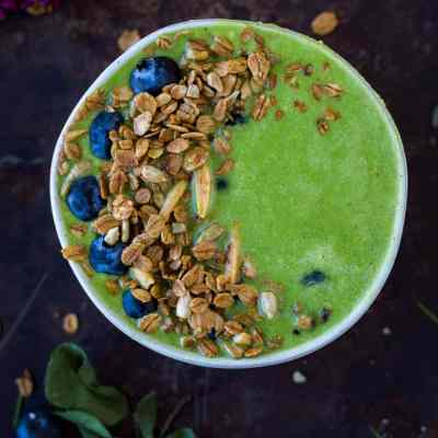 The Essential Greens Smoothie Bowl