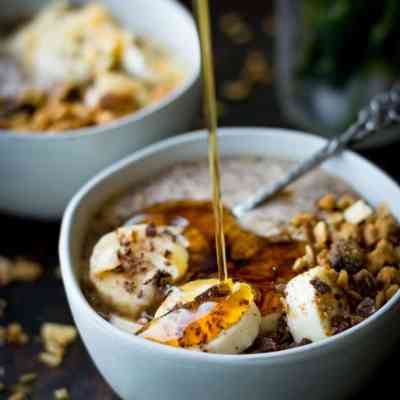 Overnight Banana Breakfast Pudding